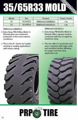 35-65R33 Radial Mold